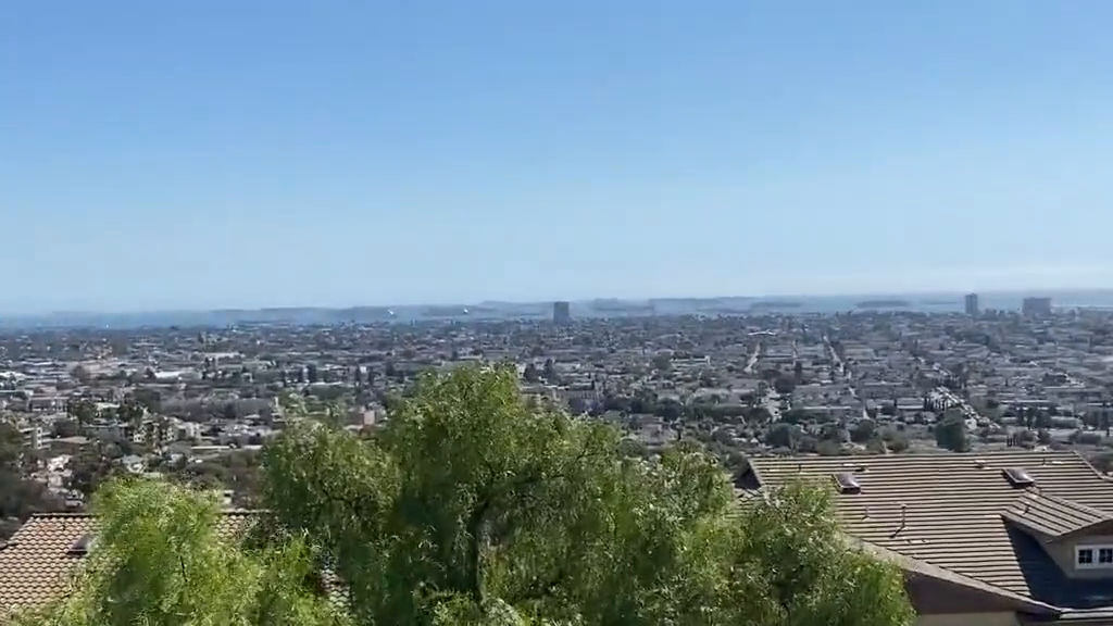 Cargo ships full of goods are stuck outside California harbours as far as the eye can see.