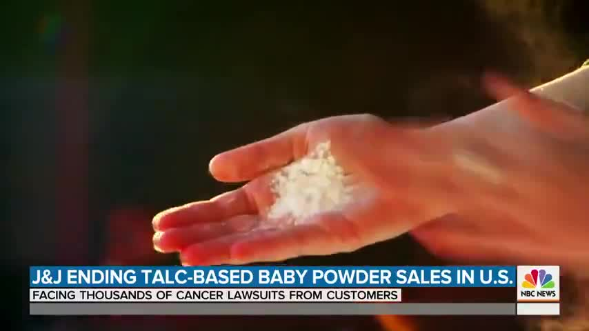 Johnson and Johnson baby powder causes cancer