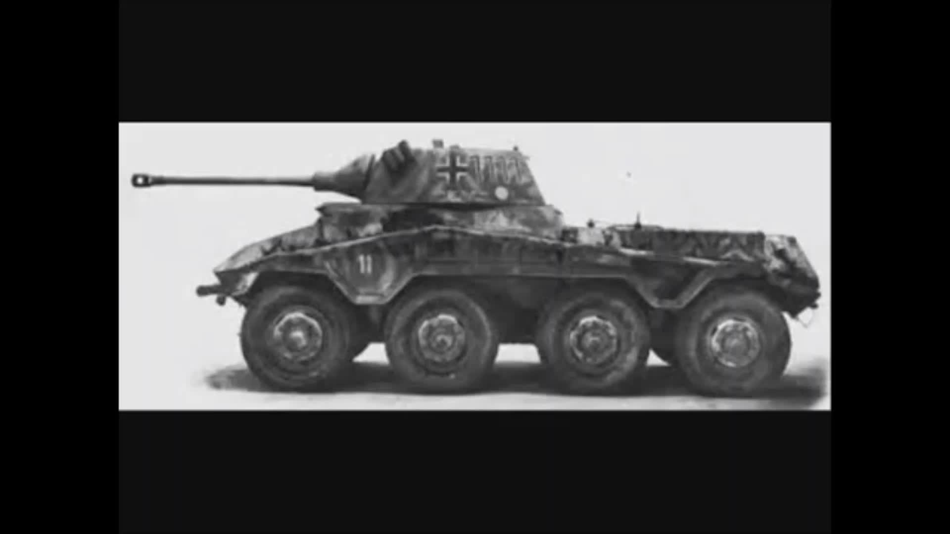 German armored reconnaissance vehicle build for war, Sd.Kfz.