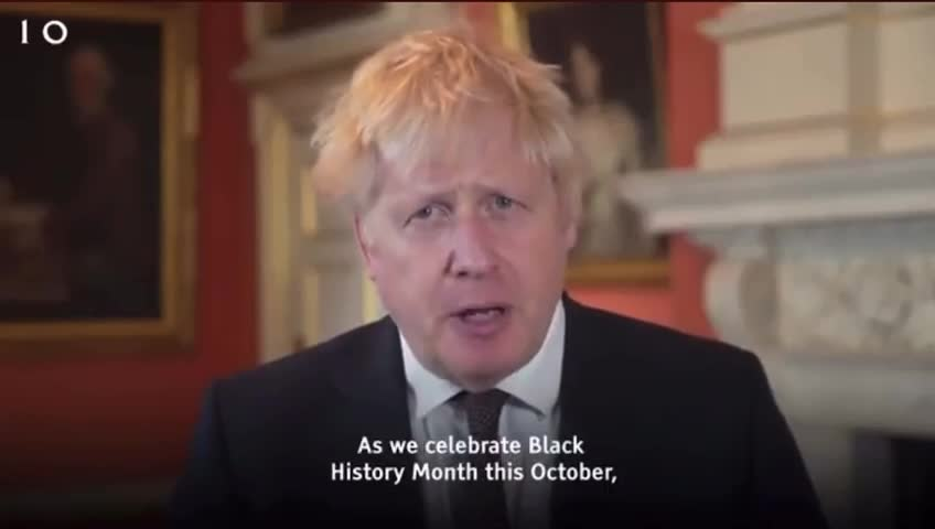 """DIRTY J£W PUPPET BORIS JOHNSON GAS-LIGHTING BRITS- THERE WOULD BE NO NHS WITHOUT BLACK """"PEEPO"""""""