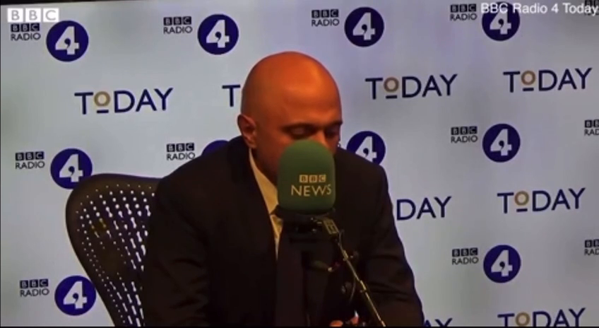 Health Secretary Sajid Javid says care home workers should get another job if they won't take the vaccine.