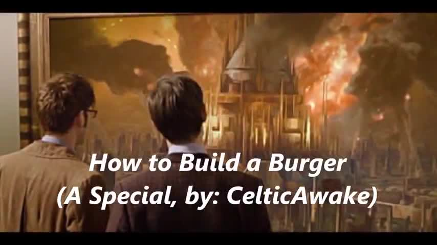 """🍔How to Build a Burger (A """"Special"""", for Those who can See)"""
