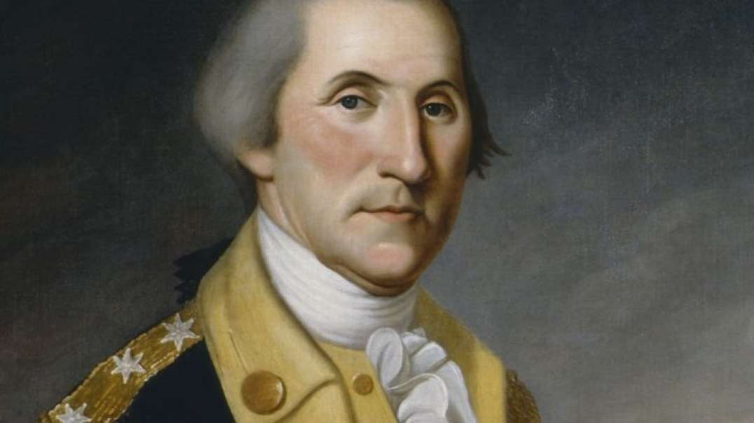 George Washington Reads The Declaration of Independence