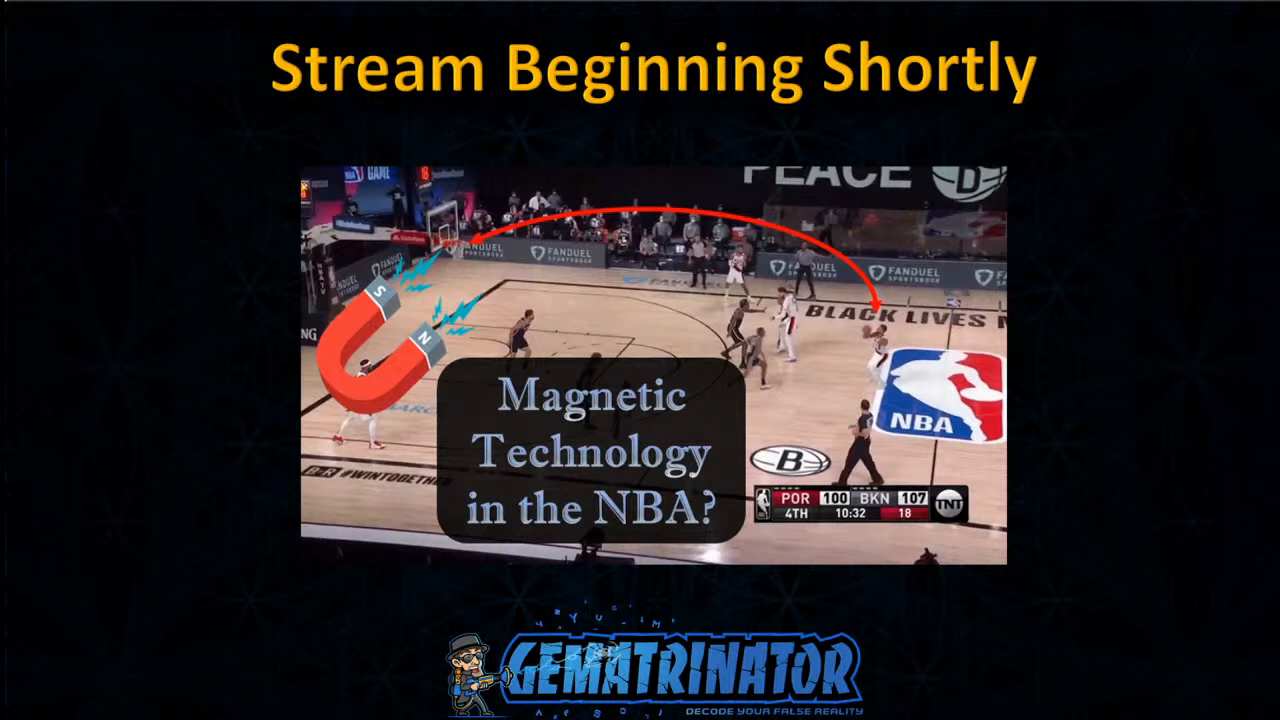 Magnetic Technology Exhibited in NBA - Bread and Circuses!