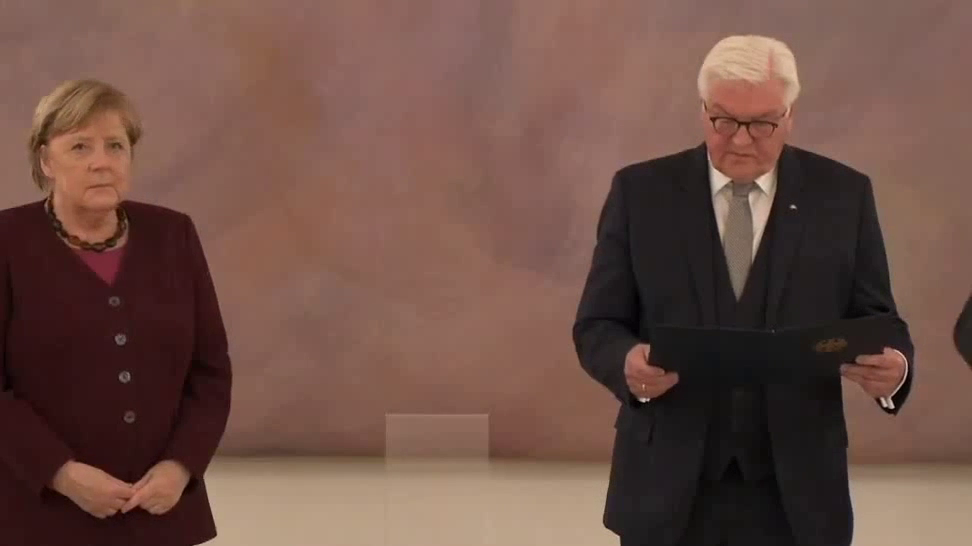 German Chancellor Merkel is out. Era ends after 16 years.