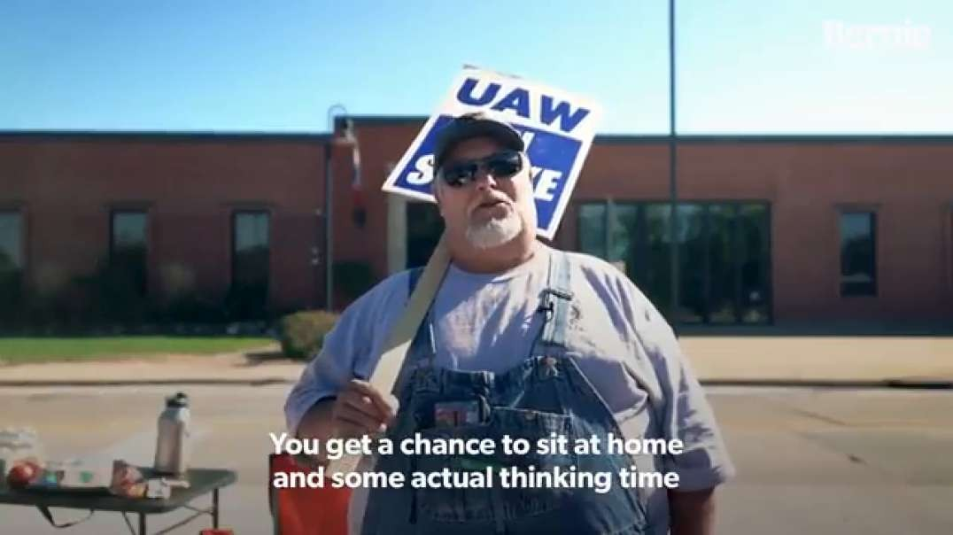 Take a moment and listen to what striking John Deere workers have to say.