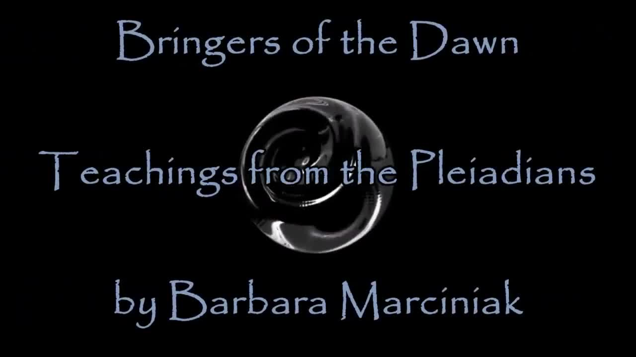"""Barbara Marciniak Bringers of the Dawn """"A must for anyone who has ever felt like an old soul"""""""