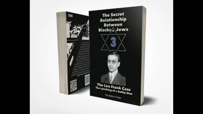 The Secret Relationship Between Blacks and Jews Vol 3 - The Leo Frank Case (1991) Read by Alex Linder
