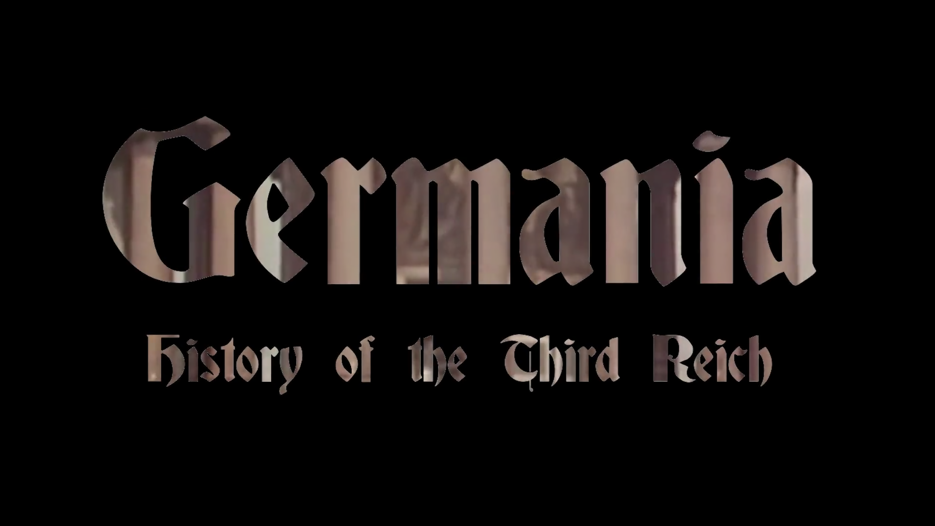 Germania: History of the Third Reich: National Socialism by BookAnon