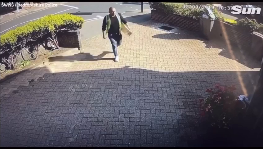 2019 LUTON - Romanian man Sandel Hornea poses as an Amazon delivery driver and batters a 14-year-old girl, her aunt and gran in a brutal robbery
