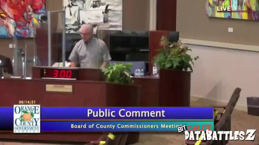 Dr Stillwagon Board of Commissioners meeting 9 14 2021 DO NOT MASK OR VACCINATE YOURSELF