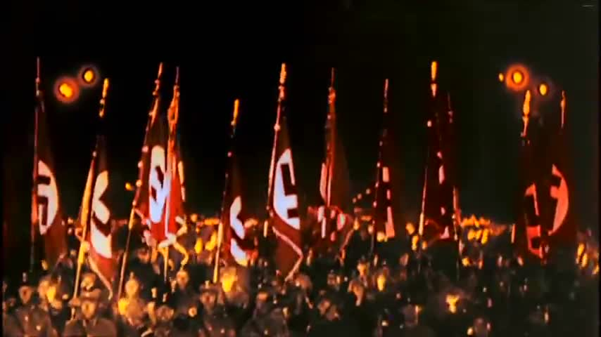 Horst Wessel Lied - Rare footage
