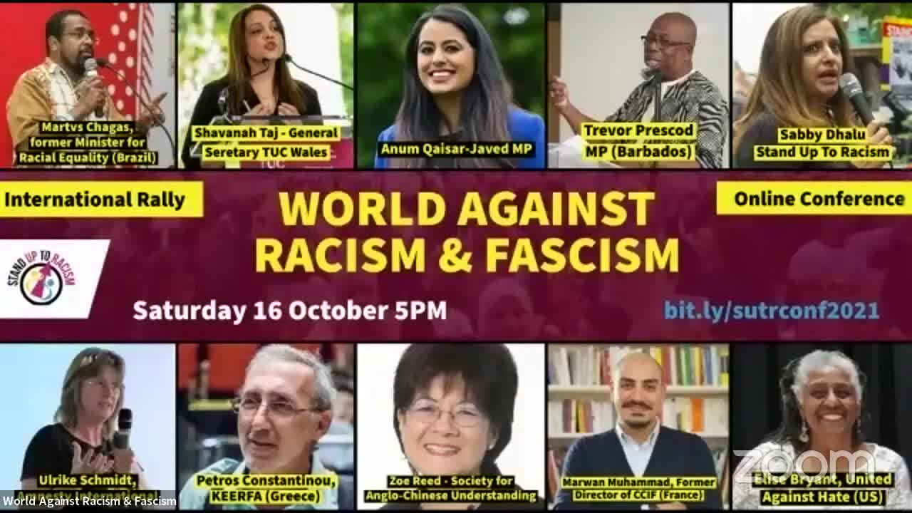 Kalergi in Action: Combating Racism; UK Edition..