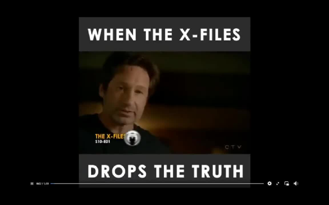 When the X-Files Drops the Truth