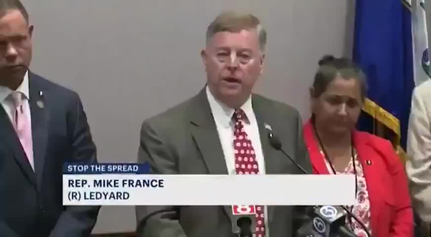 """Rep. Mike France Threatens """"Either you Take this Shot or you Lose your Ability to Feed your Family"""""""