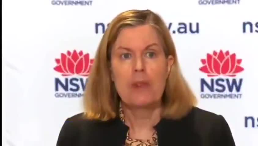 Australia's NSW Chief Health Officer Kerry Chant now says, indoor mask wearing